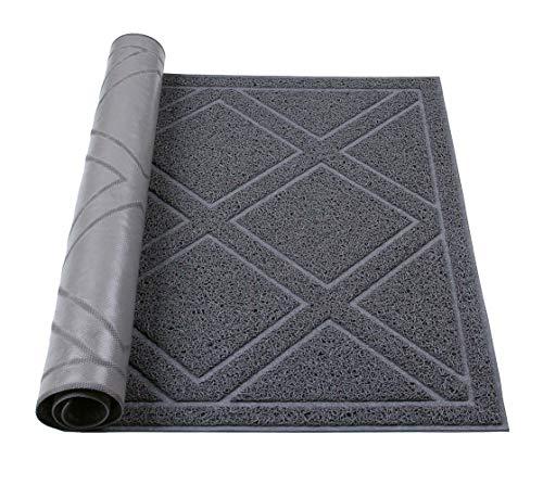 Darkyazi Large Indoor/Outdoor Doormat 23.6' x 35.4' Plaid Design Non...
