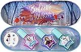 Disney- Frozen Nail Tin, Color standard (Markwins 1599002E)