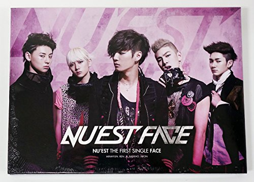 NU'EST NUEST - Face (1st Single Album) CD+Photobook+Photocard
