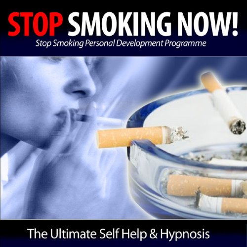 Stop Smoking Now! audiobook cover art