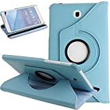 GHC Pad Etuis & Covers pour Samsung Galaxy Tab 4 7.0 SM-T230 T231 T235, 360 Rotation Smart PU Stand...