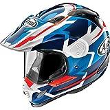 Arai XD4 Helmet - Depart (XX-Large) (White/Blue)