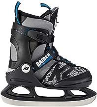 K2 Skate Boy's Raider Ice Skate, Gray Black, 1-5