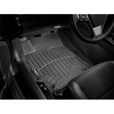 2011-2013 Chevrolet Equinox WeatherTech Floor Liner (Black) [Dual Floor Posts] FULL SET