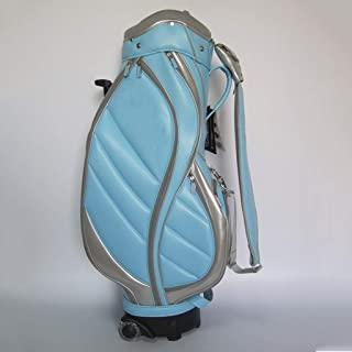 Golf Bag, Lightweight and Portable, Waterproof Material, Multi-Color Optional happyL (Color : Blue)