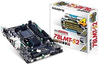 Gigabyte GA-78LMT-S2 AM3+ AMD DDR3 1333 760G USB 2.0 Micro ATX Motherboard