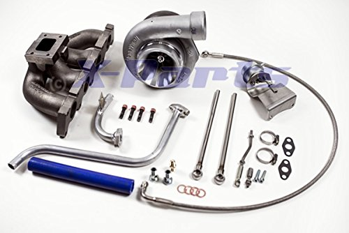 1.8T Turbo Kit 300-330PS Aggiornamento Charger GT2860 Cross Collettore