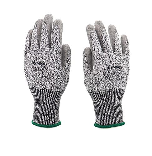 切れにくい作業用手袋、快適で耐久性、耐薬品性、(いっそくの販売ユニットにつきます) (S)