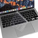 MOSISO Premium Ultra Slim TPU Protection Clavier Uniquement Compatible avec MacBook Air 13 2020 A2337 M1 A2179 Rétroéclairé Magie Clavier avec Display&Touch ID, Protecteur Peau Douce, Transparent