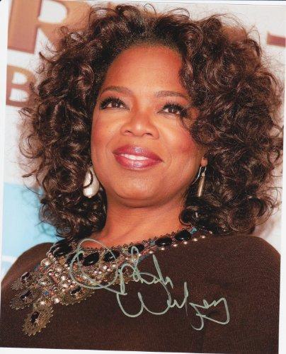 Kirkland Oprah Winfrey 8 X 10 Photo Autograph on Glossy Photo Paper