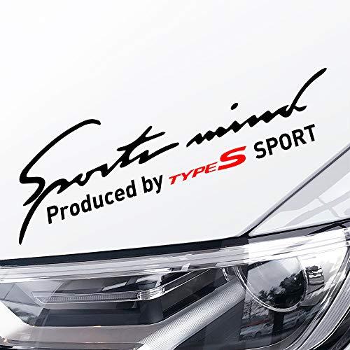 mächtig der welt Honda Civic CRV HRV Stadtakkord 87 FSX TLLL Auto Seitenstreifen Seitenaufkleber…