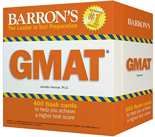 GMAT Flash Cards (Barron's Test Prep)