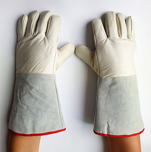 Cryogenic Gloves Waterproof Low Temperature Resistant LN2 Liquid Nitrogen Protective Gloves Cold Storage Safety Frozen Gloves