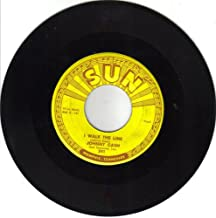 I Walk The Line / Get Rhythm { Sun Records 241 } [ 7 inch VINYL single. 45 rpm ]