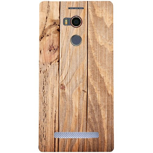 Casotec Wooden Texture Design Hard Back Case Cover for Gionee Elife E8
