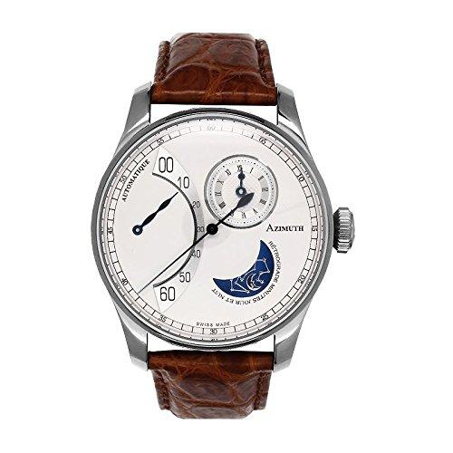 Orologio Azimuth Round 1, retroilluminato, con minuti giorno e notte, RMDN,...
