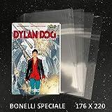 100 Buste per fumetti formato BONELLI SPECIALE - W.R. Buste