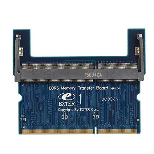 Duradero Laptop Está Usado para La Tarjeta De Adaptador De Memoria De Escritorio Hermoso (Colore : DDR3, Lunghezza del cavo : DDR2)