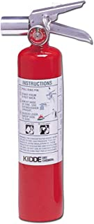 Kidde 466727 Halotron Fire Extinguisher, 2-1/2-Pound, 2BC