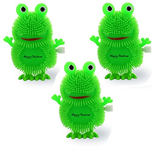 Cazenove 3 Passover Hopping 10 Plagues Frog Toy for Pesach Seder Table Decoration