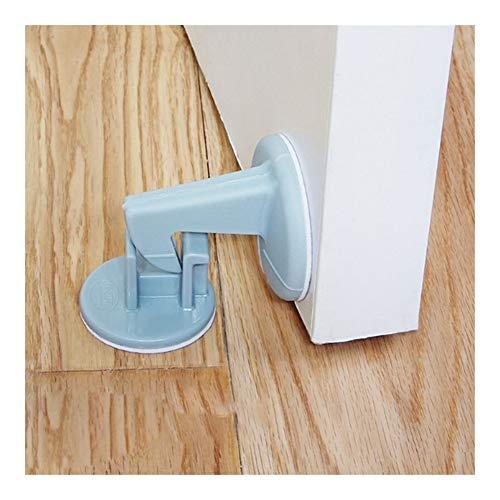 Tapón de silicona Manija de la puerta Silenciador Protector de pared Anti-colisión Puerta Puerta Manija (Color : White)