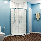 <span class='highlight'>ELEGANT</span> 900 x 900 mm <span class='highlight'>Quadrant</span> <span class='highlight'>Shower</span> <span class='highlight'>Enclosure</span> 6mm Easy Clean Glass Sliding Door <span class='highlight'>Shower</span> Cubicle