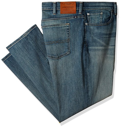 Lucky Brand Men's Big and Tall Big & Tall 410 Athletic Fit Jean, Beckville, 46W X 30L