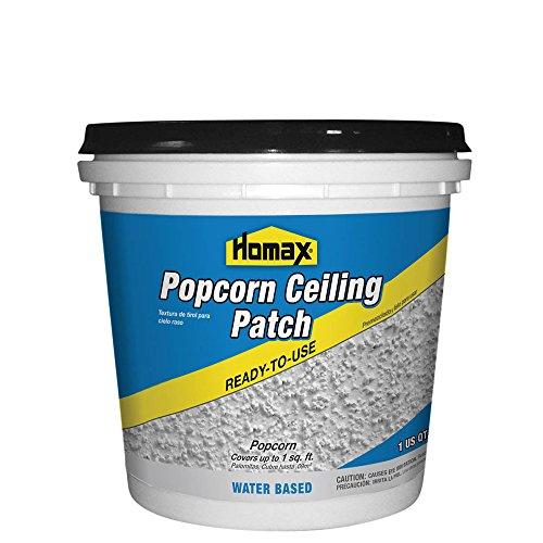Popcorn Ceiling Patch, White, 1 Quart., Ceiling Repair