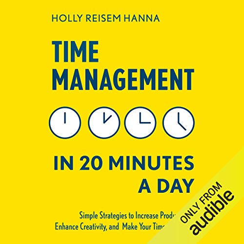 Time Management in 20 Minutes a Day cover art