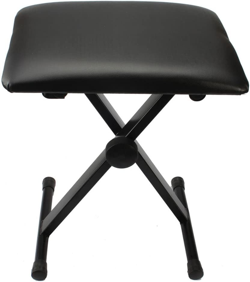 Ranking TOP15 Adjustable X Style Iron Frame Stool Piano Keyboard A Free shipping New Bench