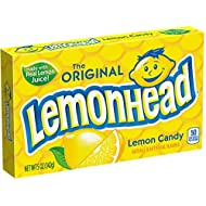 Lemonhead Candy,5 Ounce Theater Box, Pack of 12