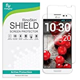 RinoGear Screen Protector for LG Optimus G Pro E980 Case Friendly LG Optimus G Pro E980 Screen Protector Accessory Full Coverage Clear Film