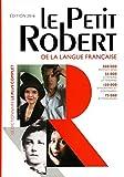 Dictionnaire Le Petit Robert de la Langue Francaise 2016 - Grand Format (French Edition) (Les Dictionnaires Generalistes) by Collectif (2015-06-15) - Le Robert, Fr. - 15/06/2015