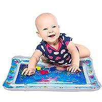 Poetryer ウォーターマット 赤ちゃん プレイマット 子供 プール 知育 おもちゃ 室内遊び 海洋動物を観察 腹ばい練習 うつ伏せ 知育促進 熱中症予防