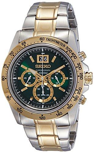 Seiko Analog Green Dial Men's Watch - SPC230P1