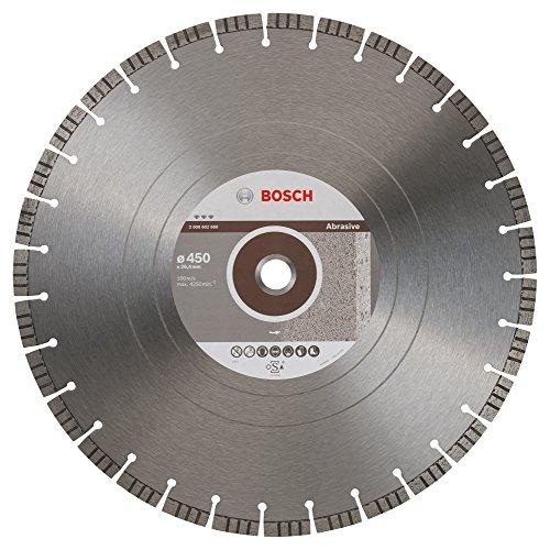 Bosch Professional Diamanttrennscheibe Best für Abrasive, 450 x 25,40 x 3,6 x 12 mm