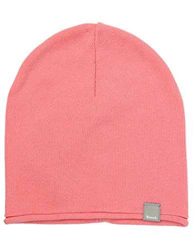 Bench Unisex GRATIS Strickmütze, Rosa (Salmon Rose PK164), One size