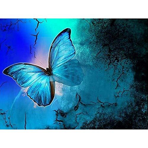 Mariposa azul Adultos Puzzle Niños Madera Ocio Toys Clásico Jigsaw Puzzle 1500 Piezas Juego Regalo