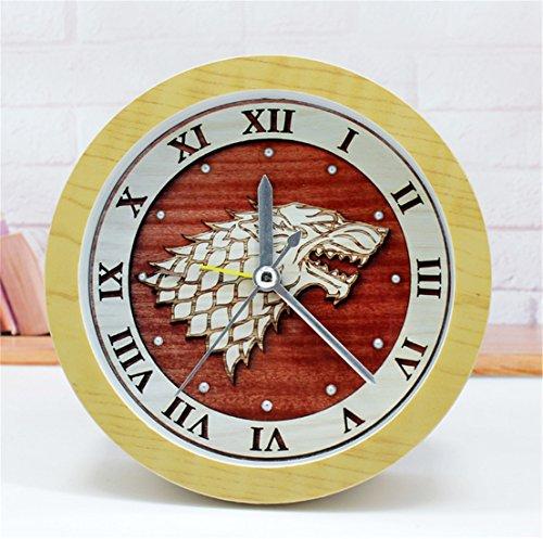 AIKE Continental Rural Moda Creatividad Silencio Cabeza de Tigre Reloj
