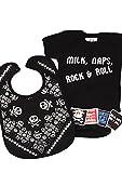 Cool Milk, Naps, Rock & Roll Baby Set de regalo/divertida bolsa de regalo para...