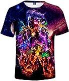 PANOZON Camiseta Unisex Impresión de Vengadores Endgame para Fanes de Película Avengers (XS, 3Colección)