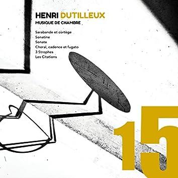 Henri Dutilleux: Musique de chambre