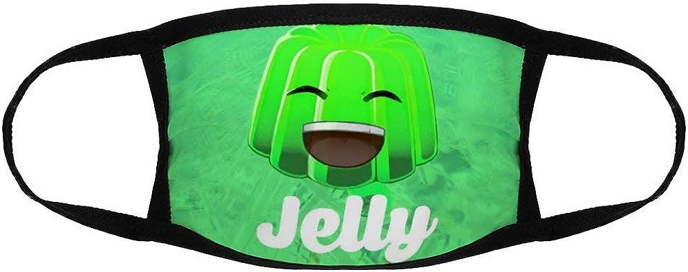 Ruduwu Kids Child Face Mask Jelly Merch Art Reusable Windproof Anti-Dust Face Mouth Cover Balaclavas