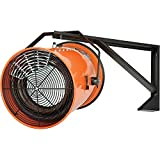 Electric Wall Mount Fan Forced Salamander Heater, 480V, 30 KW, 3 Phase, 36 Amps