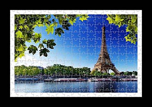 Puzzle stile (preconfigurati) Stampante muro di Eiffel Tower by Lisa Loft