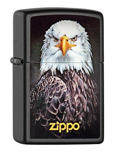 Zippo Zippo 60000517 Eagle Portrait Feuerzeug, Messing Map(language_tag -> De_de)