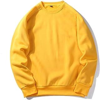 Men's Sweatshirt Kangaroo Pocket Breathable Loose Breathable Wool Hoodie