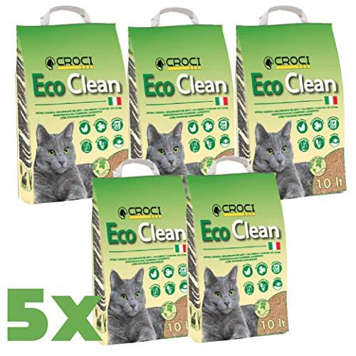 LETTIERA per Gatti Eco Clean Formato CONVENIENZA 5X10lt