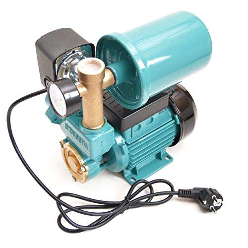 Huiswatervoorziening, set 2 liter, drukvat, tuinpomp, 250 watt, 2100 l/u, 3,3 bar