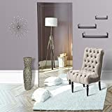 Naomi Home Mirrored Bevel Mirror Full Length